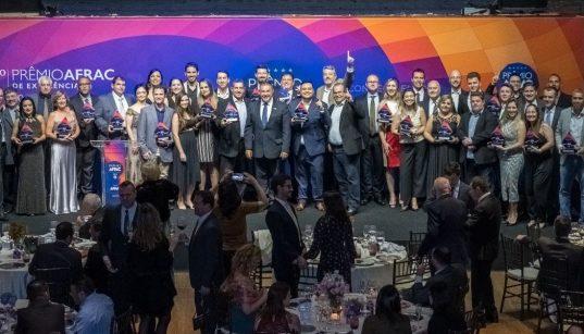 vencedores do premio afrac 2019