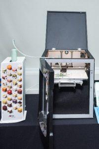 prototipo de impressão 3d de alimentos no summit alimentos 2019