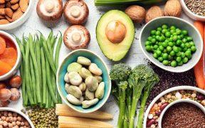vegetais frutas e cereais