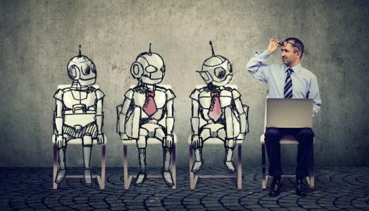 automação por robôs