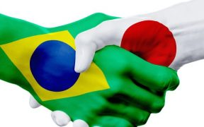 imagem que representa negocios entre brasil e japao