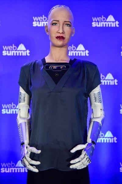 robo sophia no web summit 2019