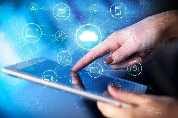imagem representando transformação digital