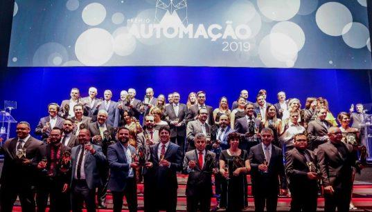 vencedores do premio automação 2019