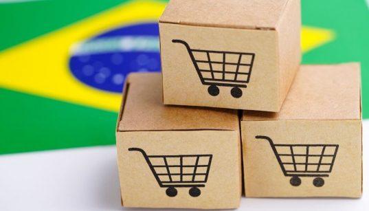 caixas representando ecommerce no brasil