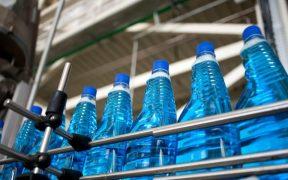 linha de producao produto de limpeza