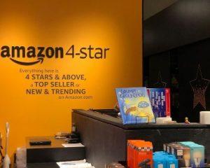 display na loja da amazon 4 star em nova york