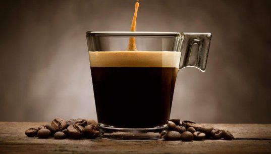 xícara de cafe