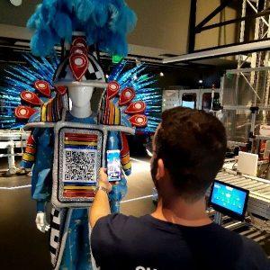fantasia codigo para o futuro gs1 carnaval 2020