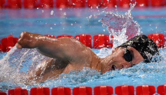 daniel dias competindo na piscina nos nos jogos de londres 2019