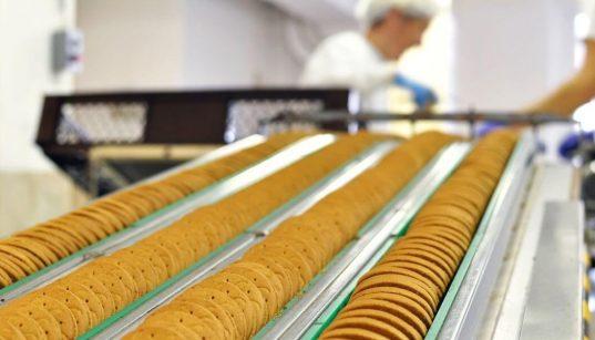fabricação de biscoitos