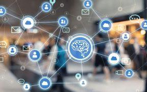 imagem ilustrativa de inteligencia artificial analisando fluxo de pessoas
