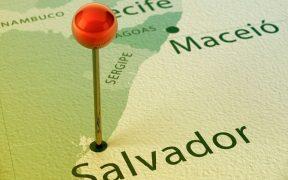 mapa estados do nordeste do brasil
