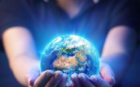 sustentabilidade mãos segurando planeta terra