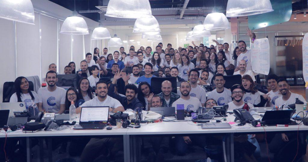 time da startup de logística Cobli
