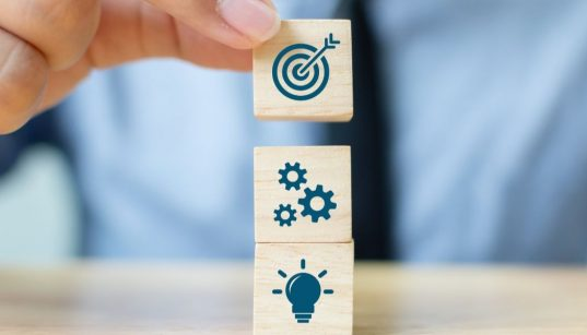 blocos que representam plano de negocios inovacao