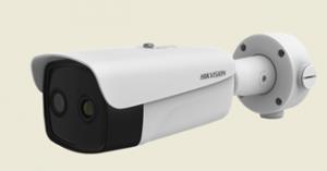 camera hickvision para medir temperatura corporal