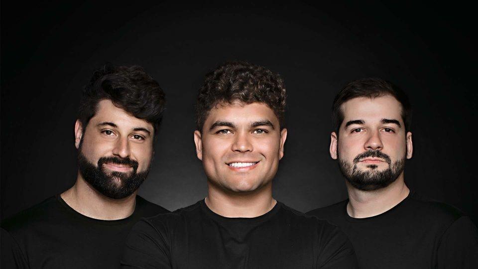 Alfredo Soares, Tallis Gomes e Bruno Nardon