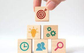 conceito de estratégia de negocios