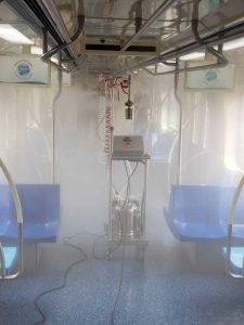 maquina de desinfecção bgtech-19 da bioguard