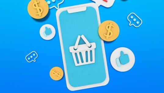 conceito de ecommerce e marketing digital