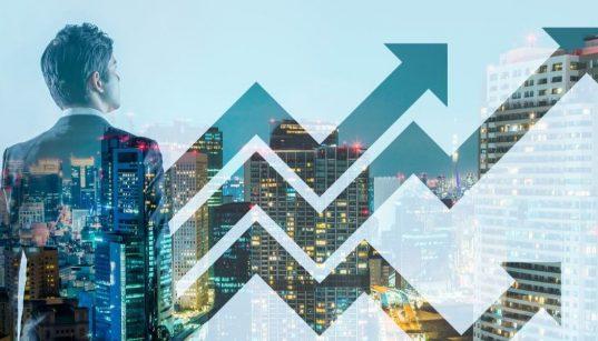 conceito de negocios e crescimento