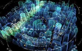 cidade holografica e futurista 5G