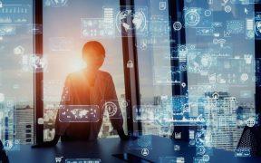 conceito de tecnologia e negocios