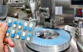 linha de produção de medicamentos