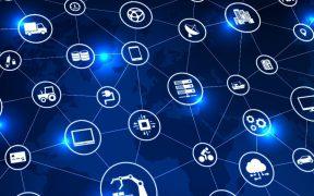 conceito de negocios com conexões em rede