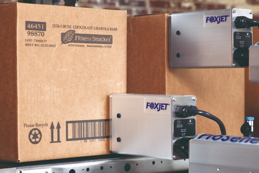 impressora da sunnyvale para impressão direto na caixa