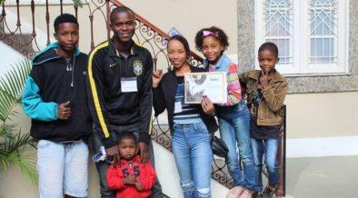 familia atendida pela saude criança