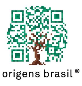 selo origens brasil