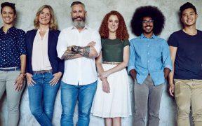 equipe com diferentes perfis diversidade
