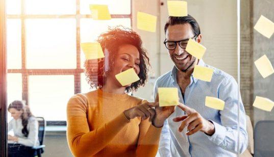 profissionais usando metodo agil pra projetos