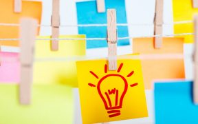 conceito de ideia e inovação
