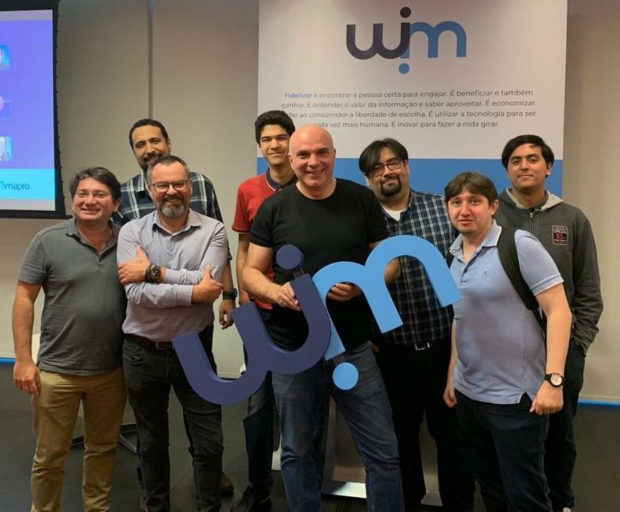 equipe da empresa winn