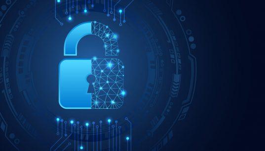 ilustracao cibersegurança e proteção de dados