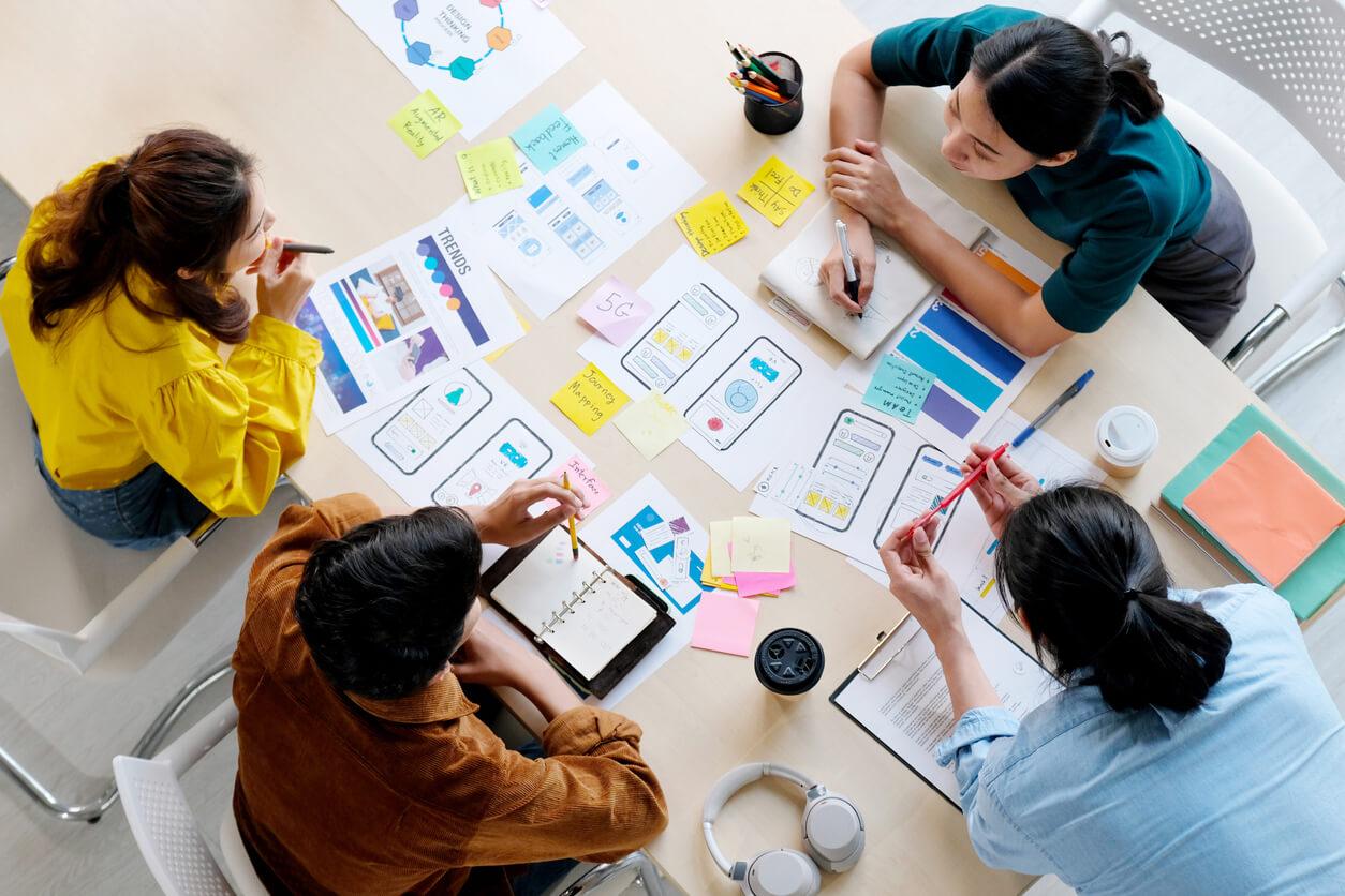 design thinking pede processo colaborativo